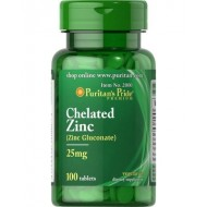 Chelated Zinc 25 mg (100 таблетс)