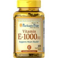 Vitamin E-1000 IU (100 softgels)