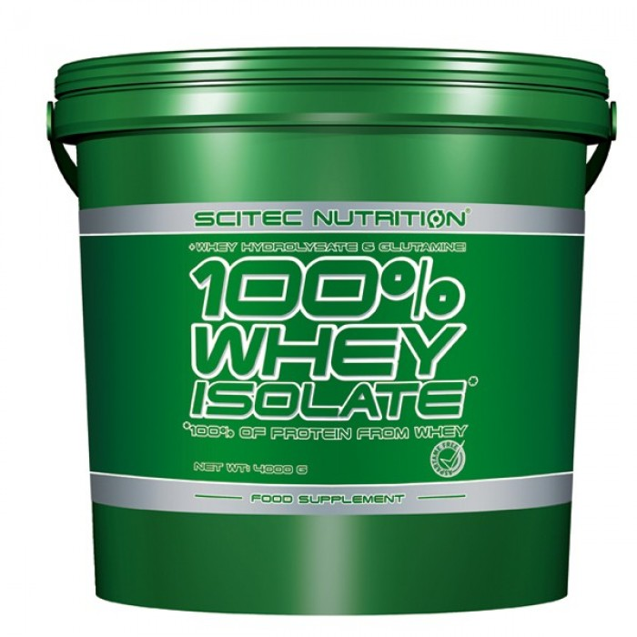 100% Whey Protein Isolate (4 кг)