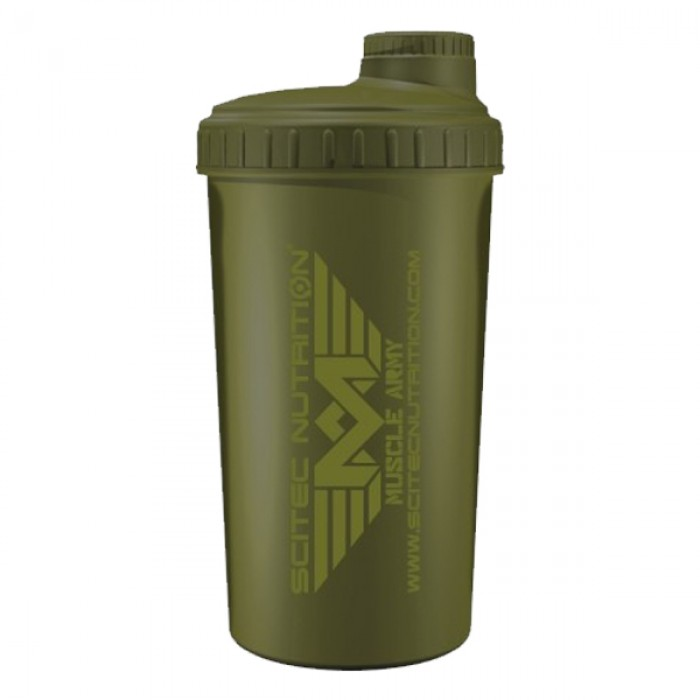 Shaker Scitec Muscle Army Green (700 мл)