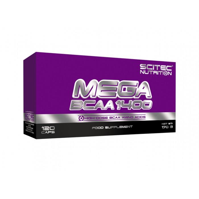 Mega BCAA 1400 (120 капсул)
