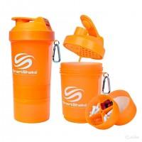 SmartShake Original2Go  NEON Orange (600 мл )