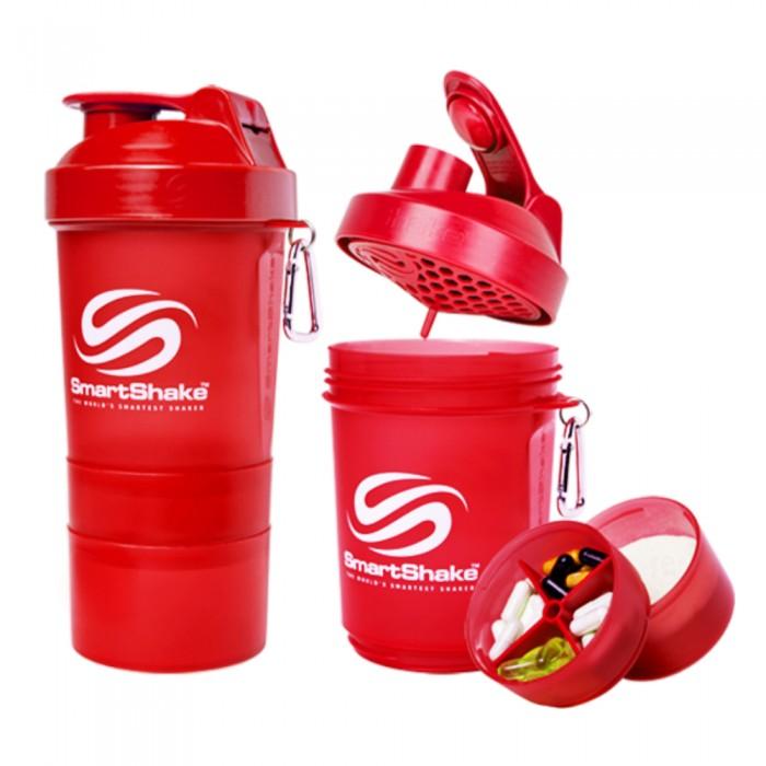 SmartShake Original2Go NEON Red (600 мл )