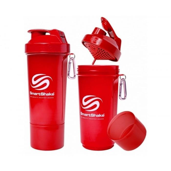 SmartShake Slim NEON Red (500 мл )