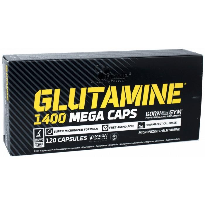 L-Glutamine 1400 mega Caps (120 капсул)