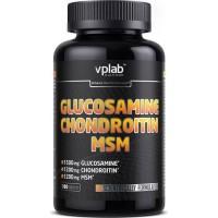 VP laboratory Glucosamine Chondroitin MSM 180 таблеток