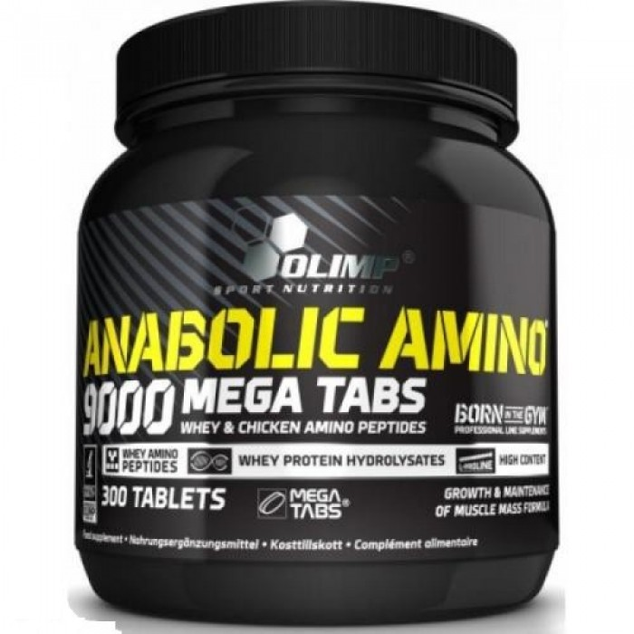 Anabolic Amino 9000 (300 таблетс)