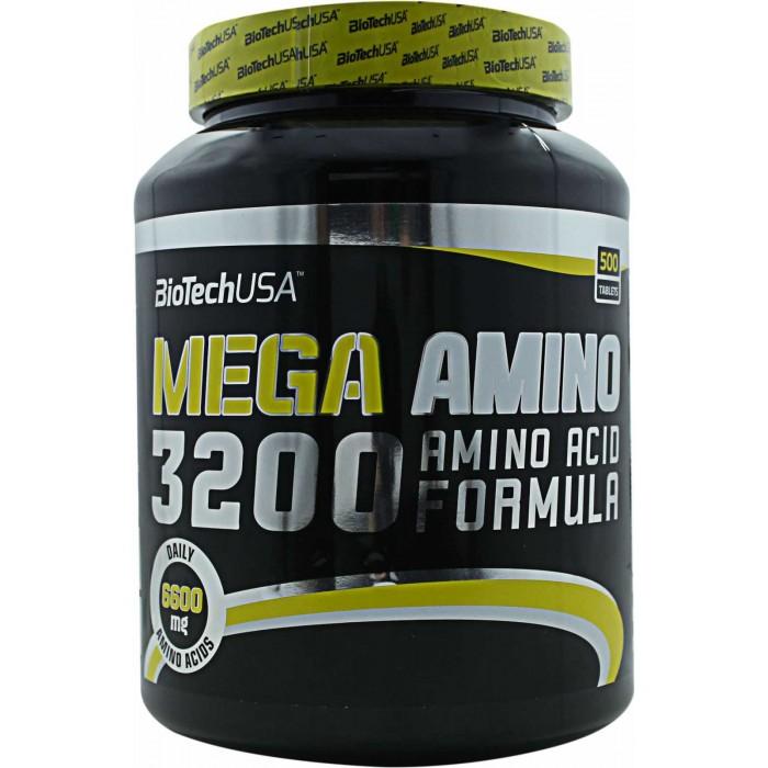 Mega Amino 3200 (500 таблетс)