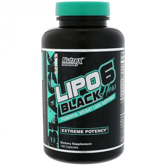 Lipo 6 Black Hers (120 капсул)
