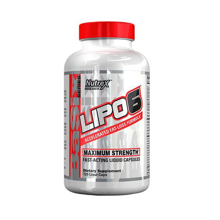 Lipo 6 Maximum Strength (120 капсул)