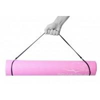 Коврик для фитнеса и йоги PowerPlay 4010 (183 * 61 * 0.4) Розовый