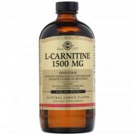 Solgar L-Carnitine 1500 mg 16 fl oz (473 ml) Natural Lemon Flavor