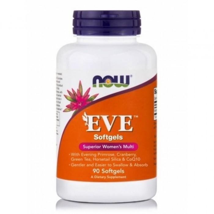 Now Eve Women's Multiple Vitamin Softgels 90 caps