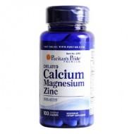 Chelated Calcium Magnesium Zinc (100 капсул)