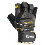 Перчатки для тяжелой атлетики Power System Raw Power PS-2810 S Black/Yellow