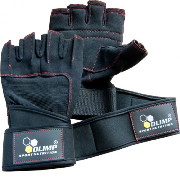 Перчатки Hardcore Raptor Black-red