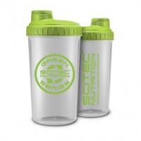 Shaker Scitec Прозрачный+ зеленый NEON  (700 мл)