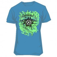 T-shirt Ornament Blue
