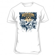 T-shirt Muscle Machine (white)