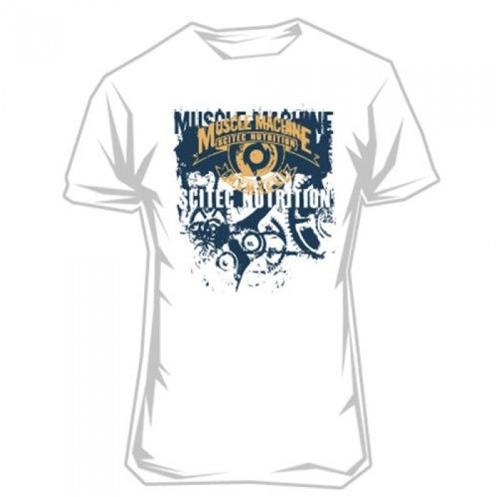 T-shirt Muscle Machine (white)
