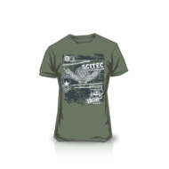 T-shirt Made of Iron Green