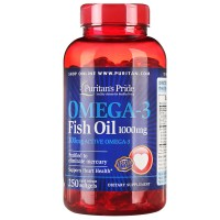 Omega-3 Fish Oil 1000 mg (250 капсул)