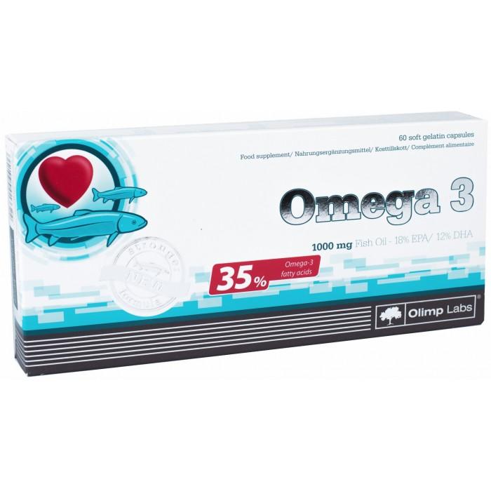 Omega 3 (35%),  (60 капсул)