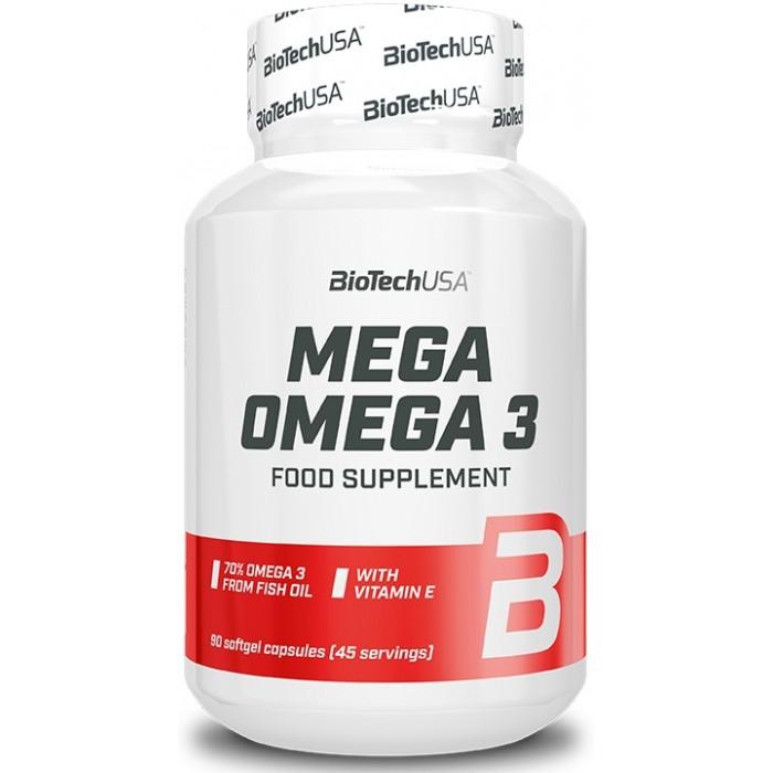 Mega Omega 3 (90 капсул)