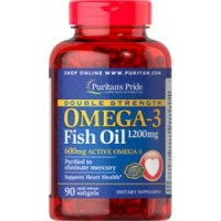 Omega-3 Fish Oil 1200 mg (90 капсул)