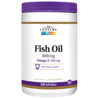 Fish Oil, 1000 мг, 300 капсул