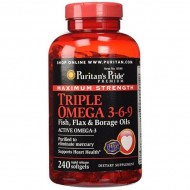 Maximum Strength Triple Omega 3-6-9 (240 капсул)