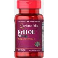 krill oil 500 mg (30 капсул)