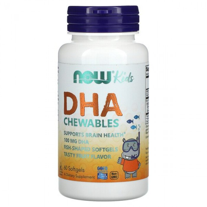 Kids Chewable DHA (60 капсул)