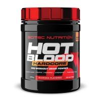 Предтренировочный комплекс Hot Blood Hardcore Scitec Nutrition, 375 грамм