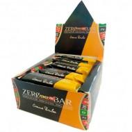 Блок батончиков Power Pro 44% Zero Bar крем брюле  (60 грамм) - 20 шт