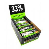 Протеиновый батончик Protein Bar 33% соленая карамель - 50 грамм блок - 25 штук