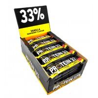 Протеиновый батончик Protein Bar 33% Ваниль-малина - 50 грамм блок - 25 штук