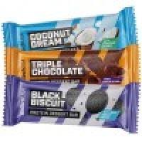 Протеиновый батончик Protein Dessert Bar BioTech, black biscuit, 50 грамм