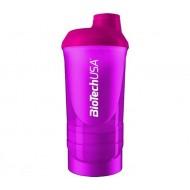 Shaker Wave + 3 in 1 (500 мл) Розовый