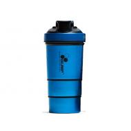 Шейкер Olimp Metal синий (600 ml)