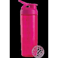 Шейкер Sleek c шариком (820 ml) Geo Lace Pink