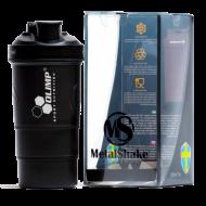 Шейкер Olimp Metal черный (600 ml)