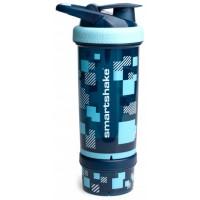 Шейкер SmartShake Revive 750 мл Pixel Blue / Синий пиксель