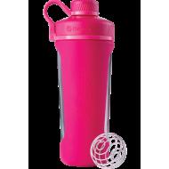 Шейкер Radian Glass 820 ml Pink (СТЕКЛО)
