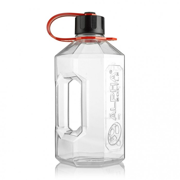 ALPHA BOTTLE XXL (2.4 литра) clear/red