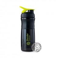 Шейкер Blender Bottle SportMixer черно-зеленый (828 мл.)