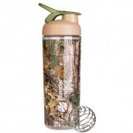 Шейкер Sleek c шариком 820 ml - коричневый (Real Tree)