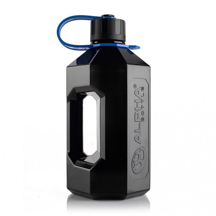 ALPHA BOTTLE XXL (2.4 литра) black/blue