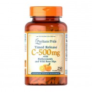 VITAMIN C-500 MG WITH BIOFLAVONOIDS AND ROSE HIPS 100 CAPLETS