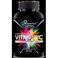 Витамин C, 500 мг., Powerful Progress, 90 таблеток